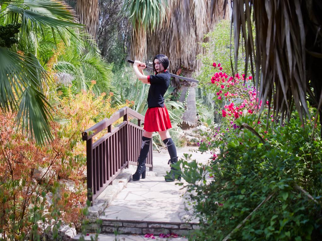 related image - Shooting Saya - Blood C - Meiko - Parc Olbius Riquier - Hyères -2020-06-27- P2155886