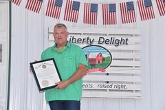 Ribbon Cutting Liberty, Delight Farms