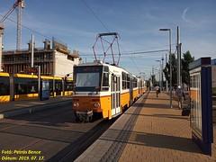 Tatra T5C5K2 4058 Budapest-Kelenföld, 2019. 07. 17.