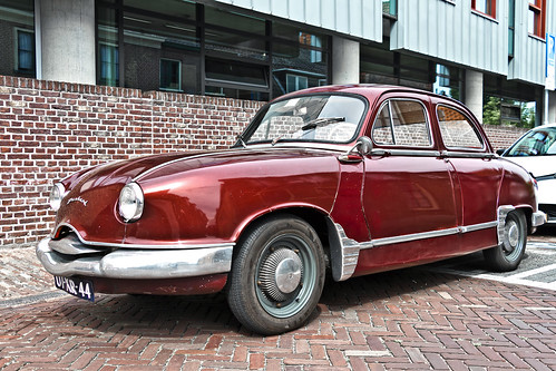 Panhard Dyna Grand Luxe Berline 1958 (3173)