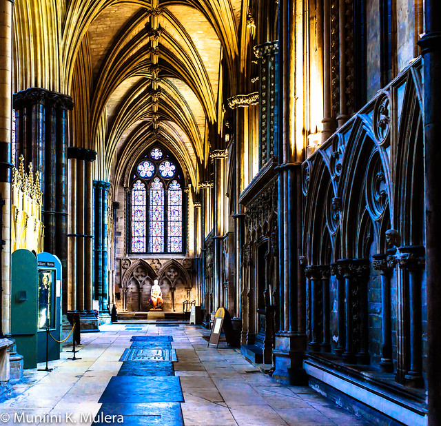 Lincoln Cathedral - vaults and arches