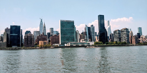 United Nations From East River