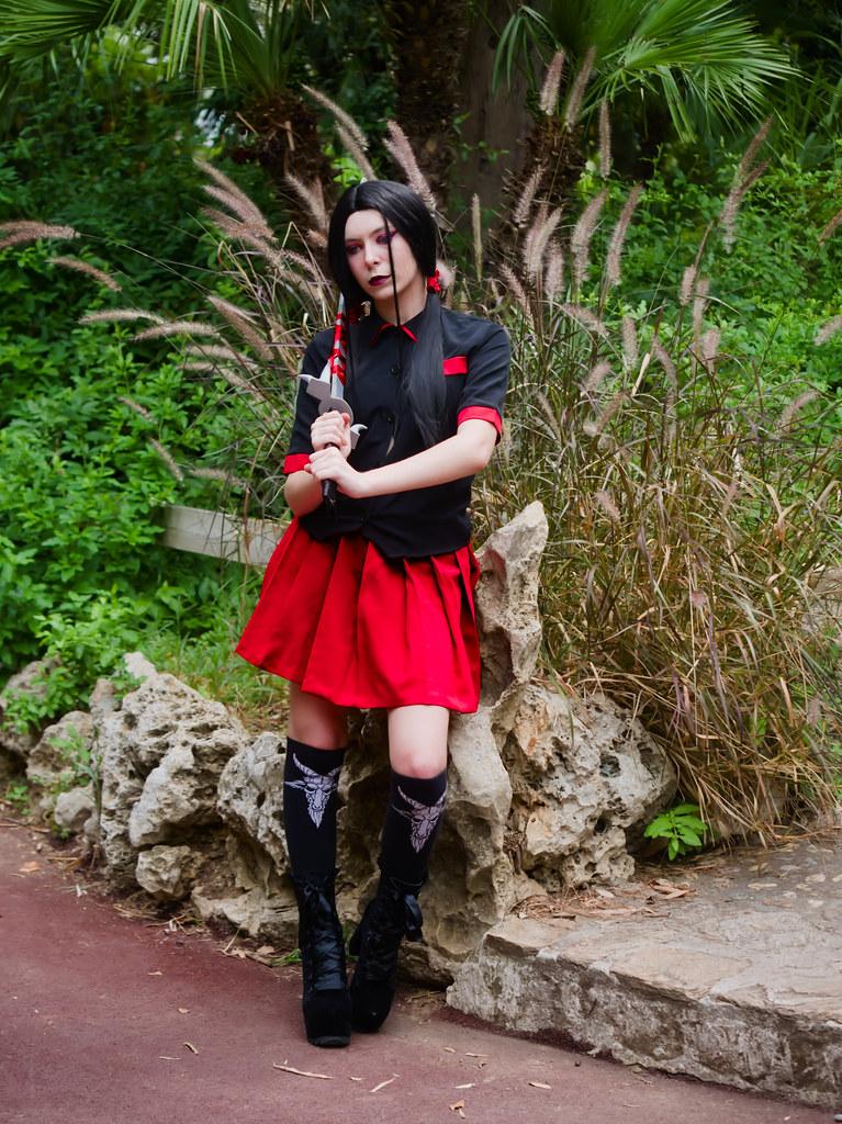 related image - Shooting Saya - Blood C - Meiko - Parc Olbius Riquier - Hyères -2020-06-27- P2155961