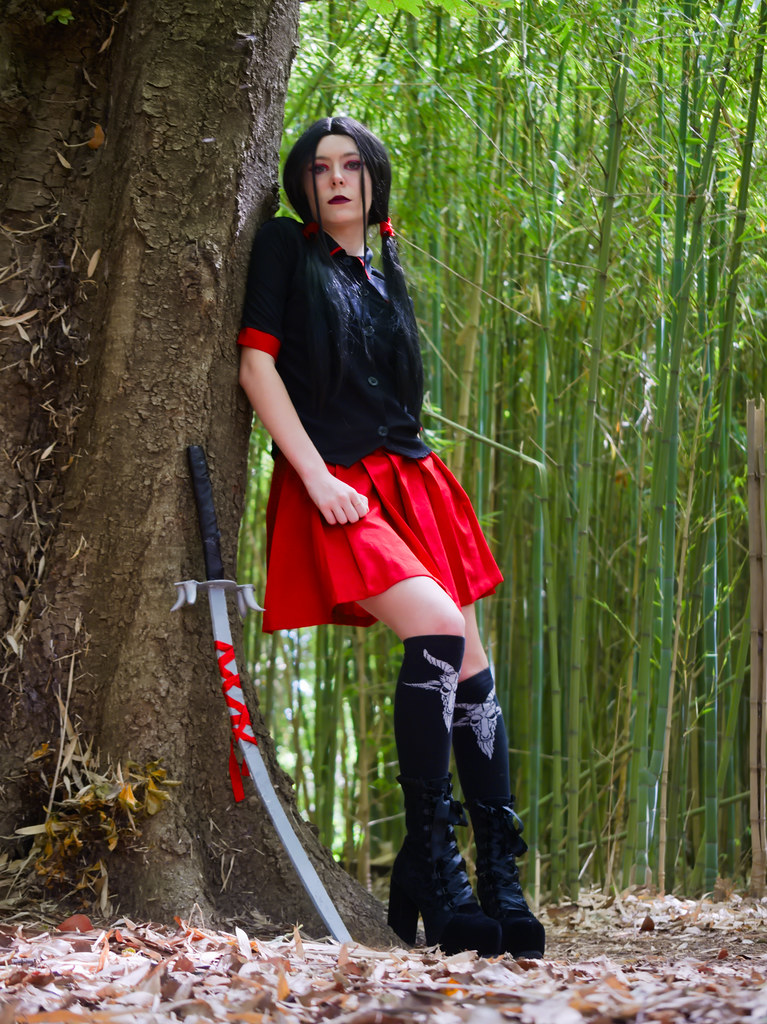 related image - Shooting Saya - Blood C - Meiko - Parc Olbius Riquier - Hyères -2020-06-27- P2155948
