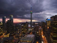 Toronto under the storm