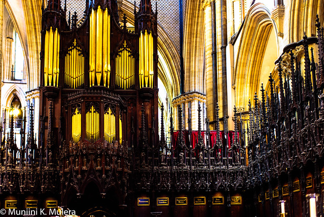 Lincoln Cathedral - Organ