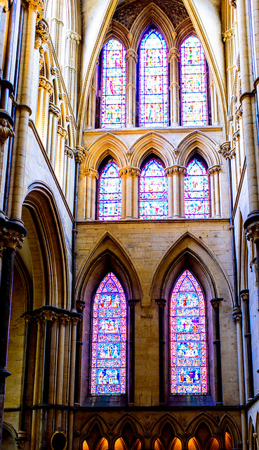 Lincoln Cathedral - windows