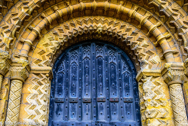 Lincoln Cathedral - Main door