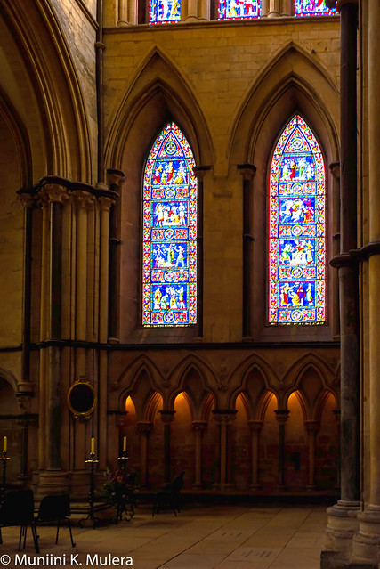 Lincoln Cathedral - stained glass windows