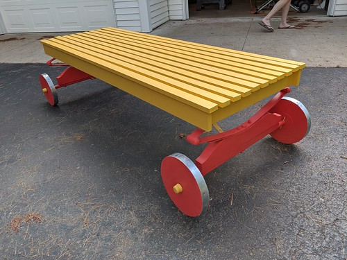 Whispering Pines wagon from Fred Silloway