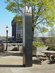 Rosslyn station entrance pylon [02]