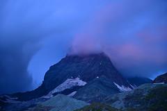 Matterhorn under Storm Clouds