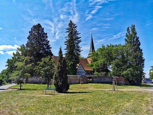 Insel Usedom - Mellenthin, Kirche