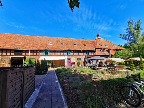 Insel Usedom - Mellenthin, Scheune