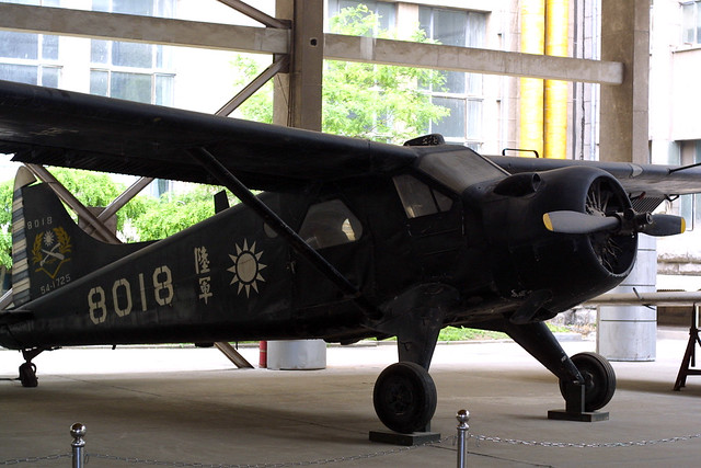 8018 De Havilland DHC-2 Mk.1 Beaver (U-6A) at the Military Museum of the Chinese Peoples Revolution