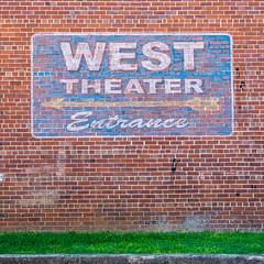 WEST THEATER Entrance – Cedartown, Georgia