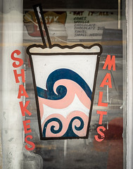 Shakes and Malts at the Tasty Dip