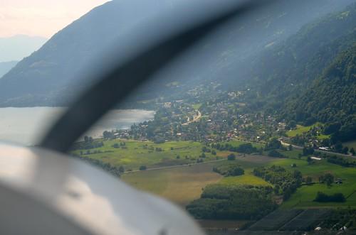 Anflug auf Feldkirchen
