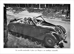 1938 Peugeot 402 Transformable (Convertible)