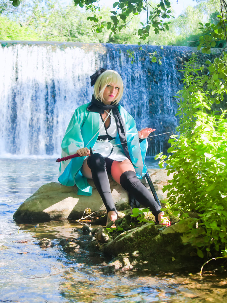 related image - Shooting Saber Okita - Fate - Leeana Strife - Sollies Pont & Montrieux -2020-07-04- P2166068