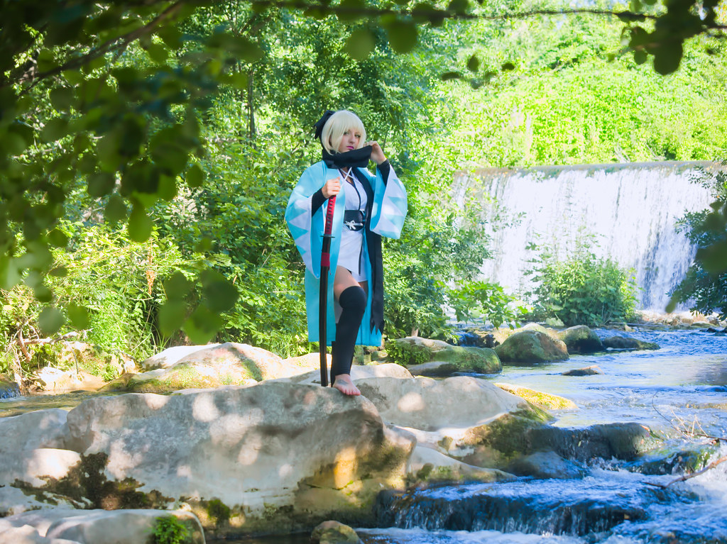 related image - Shooting Saber Okita - Fate - Leeana Strife - Sollies Pont & Montrieux -2020-07-04- P2166134