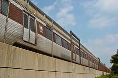 Red Line train at Rockville station