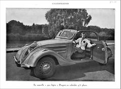 1938 Peugeot 402 Cabriolet