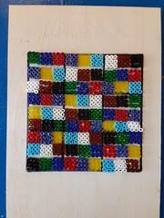 Bead Mosaic based on the Miracle Sudoku