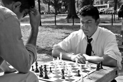 Chess match in Dupont Circle [04]