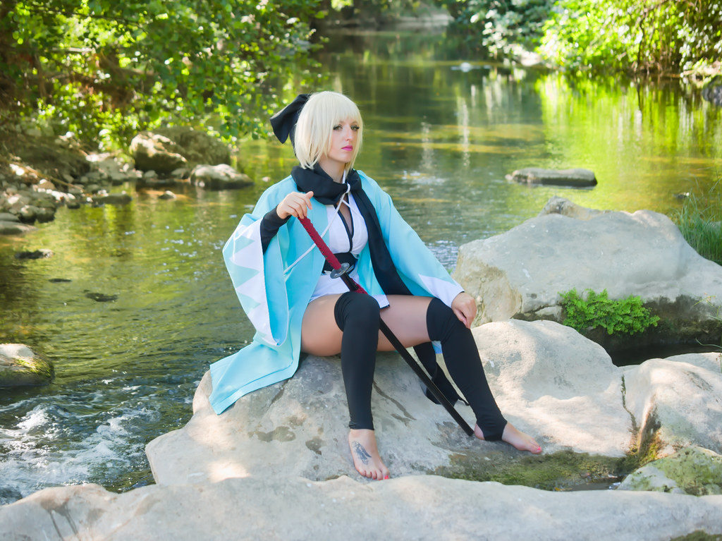 related image - Shooting Saber Okita - Fate - Leeana Strife - Sollies Pont & Montrieux -2020-07-04- P2166145