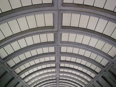 Ceiling at Van Ness-UDC station