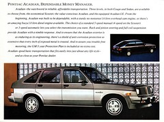 1986 Pontiac Acadian 5-Door Hatchback Sedan