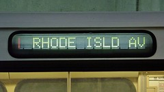 Red Line to Rhode Island Avenue