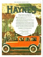1919 Haynes Sedan