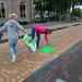 07-07-2020 Voetgangersgebieden in Vaassen gezelliger maken dmv 100% wild