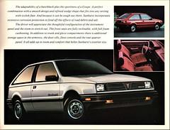1986 Pontiac Sunburst Coupe (Canada)