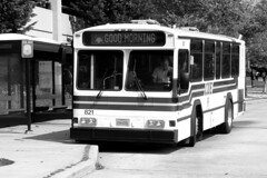 CUE bus 821 at Vienna station