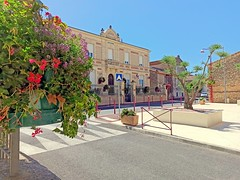 France, le Village fleuri de Vinassan