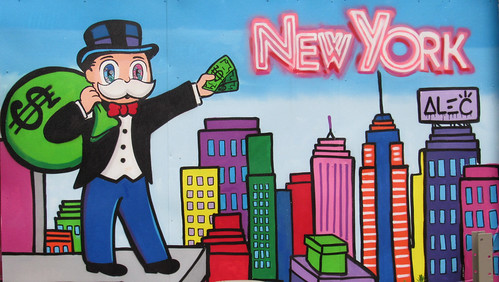 Mr. Moneybags in New York