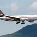Singapore Airlines | Boeing 777-200ER | 9V-SQA | 50th anniversary livery | Hong Kong International