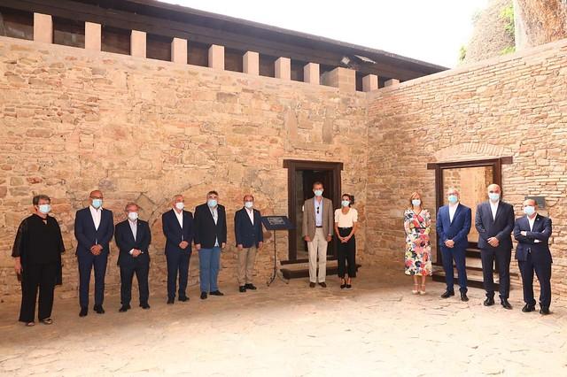Visita de los Reyes a San Juan de la Peña y Jaca