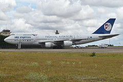 Boeing 747-283B(F) 'SX-FIN' - Photo of Villers-les-Ormes
