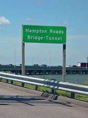 Hampton Roads Bridge-Tunnel, westbound [01]