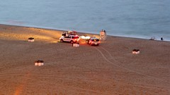 Surf rescue vehicles on the beach [02]
