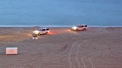 Surf rescue vehicles on the beach [01]