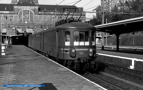 Train Postale  |  Verviers Central