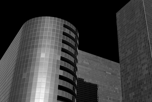 Greenway Plaza (infrared)