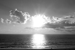 Sun over the Atlantic Ocean [01]