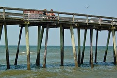 Virginia Beach Fishing Pier from the south