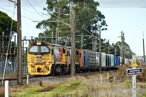 Diesels amongst electric traction paraphernalia